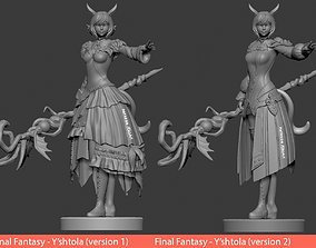 3D printable model Yshtola Final Fantasy XIV - Version 1 1