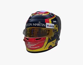 Albon helmet 2019 3D model