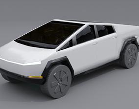 Tesla Cybertruck 3D concept