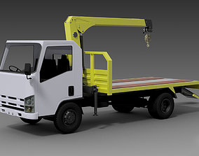 3D Truck Mounted Crane Heavy Duty