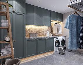 3D model Laundry room 02