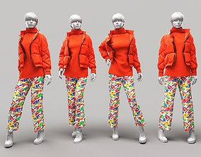 3D Woman Mannequin 8