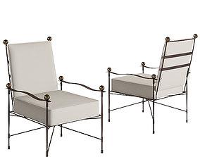 Amalfi Adjustable Chain Back Lounge Chair - Janus Et 3D