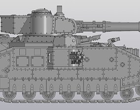 3D print model Super Heavy Tank construction set