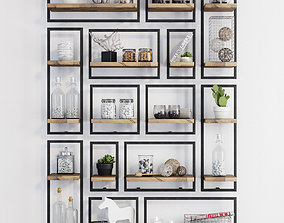 3D Teak House LOFT d-Bodhi Shelfmate wall shelves
