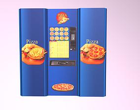 realtime 3d model Pizza machine