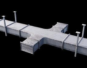3D PBR Air Vent - V-Ray Smart Materials 8K