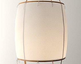 Z1 Black Cotton Pendant Lamp 3D model