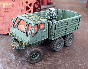 Military Truck - 28mm Sci-Fi 3D printable model