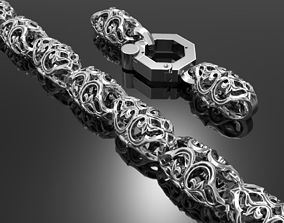 3D printable model bracelet 124