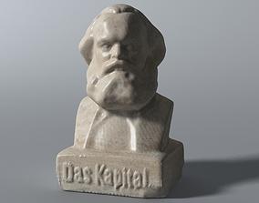 3D model Karl Marx Bust