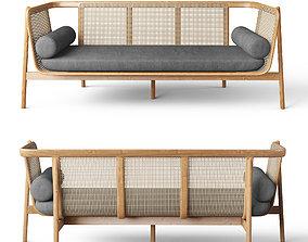 3D model Hamper Sofa