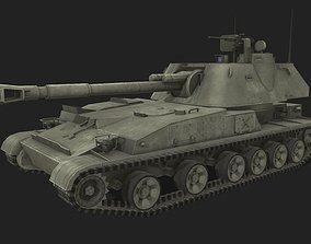 2s3 Akatsiya 3D asset