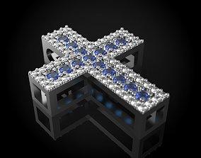 diamond cross 3D printable model