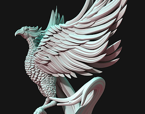 3D printable model miniatures Phoenix bird