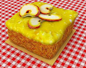 3D model Applesauce Cake