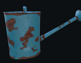Watering can 3D asset