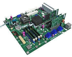 3D motherboard MotherBoard