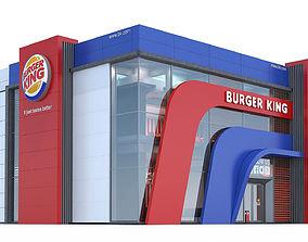 Burgerking restaurant 3D