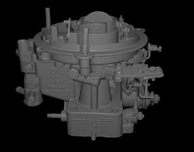 High poly carburetor 3D model