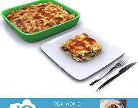 italian Lasagna 3D model