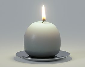 3D model Ball candle