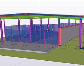 3D model Dock de Lifou