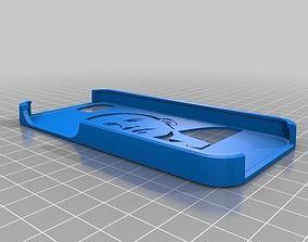 Obama stencil case Iphone 5 3D print model