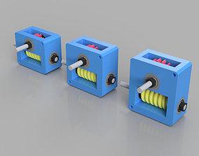 Worm Gear Boxes 3D print model