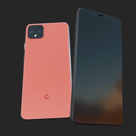 2019 Google Pixel 4xl game asset pbr/game asset wip