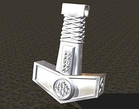 Pendant Thor Hammer 3D print model