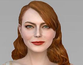 3D model Emma Stone