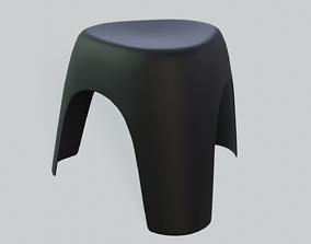 3D model Stool - Elephant