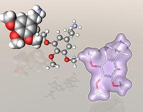 3D Mescaline molecule