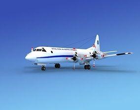3D model Lockheed P-3 Orion NOAA Hp