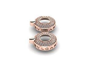 bvlgari wedding earrings 3D printable model