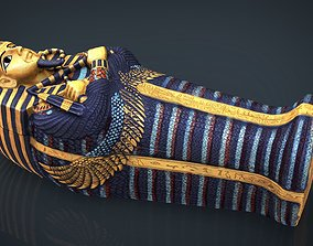 3D model EGYPTIAN SARCOPHAGUS