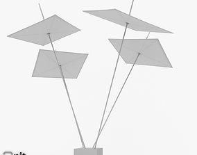 3D model Camerarius shade sail system Skia