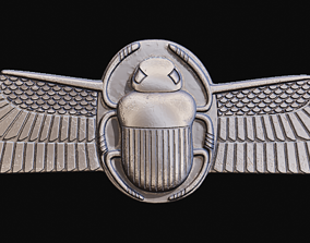 Egyptian Scarab Beetle for CNC Router and 3D print model