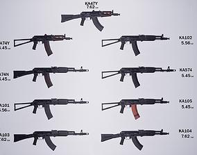 Kalashnikov system 3D asset