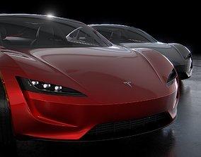 Tesla Roadster 2020 3D sport