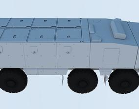 Kamaz typhoon 3D model
