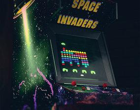 Arcade Console 3D asset