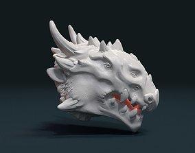 3D printable model Demon Dragon Head