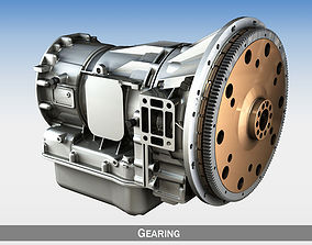 Automatic transmission - Gearing 3D parts
