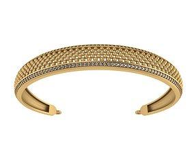 Bvlgari bracelet 3D model gem