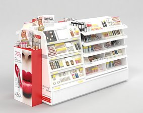 3D LOreal Paris Cosmetics Stand vol1 beauty