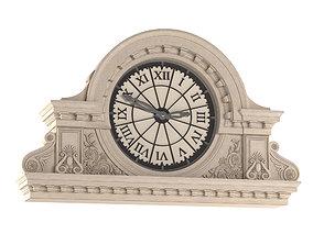 Front street clock Vray Corona 3D model