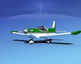 3D Zlin Z 242 V09