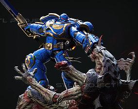 Warhammer 40k Space Marine Killing 3D printable model